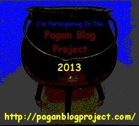 Pagan Blog Project 2013 - improvised logo
